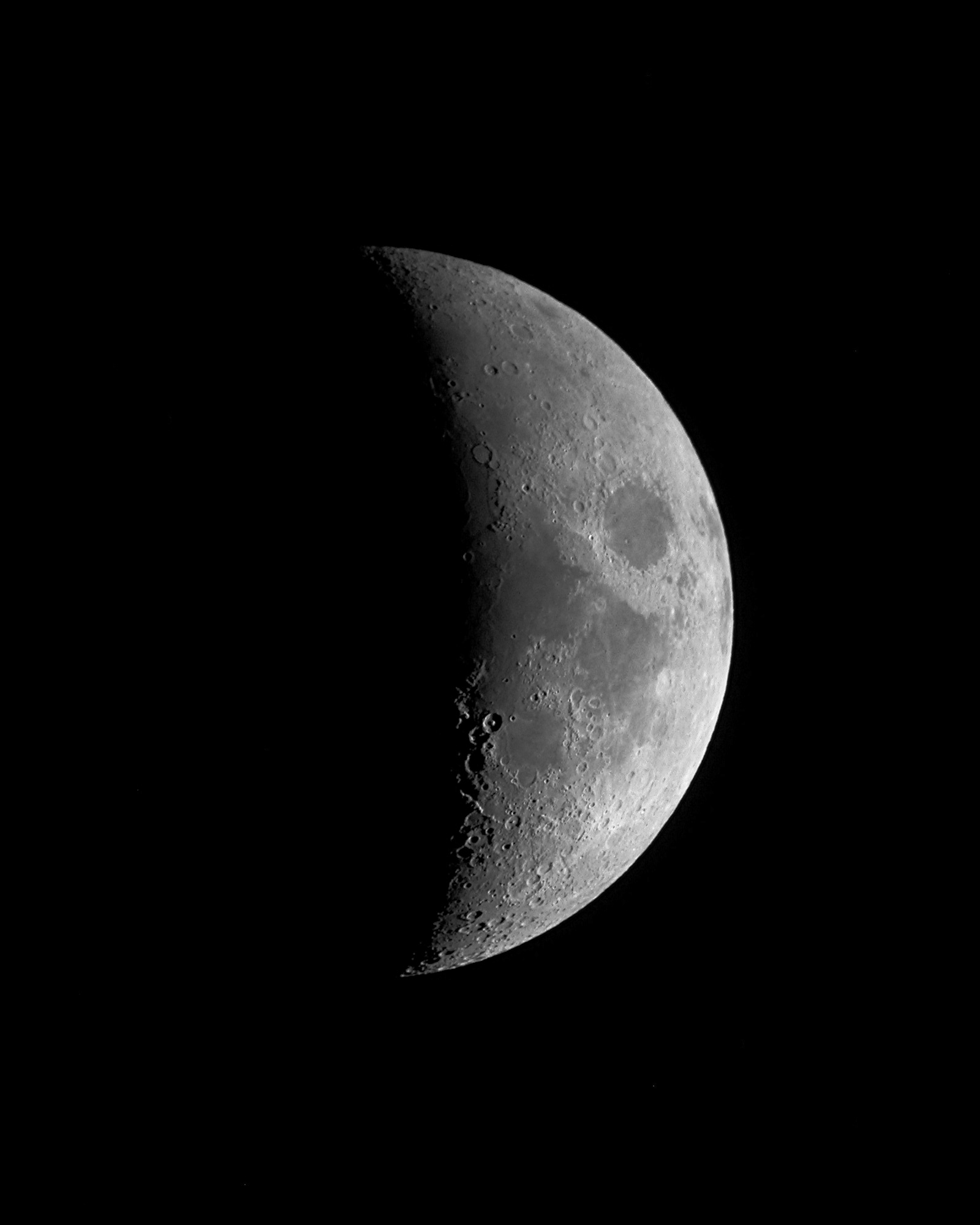 Half Crescent Moon With Face Tattoo: Extended Mission: Follow The Moon