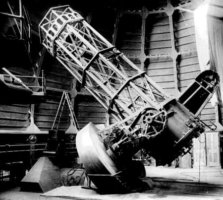 The 60-inch telescope as it appeared when my grandfather was born.