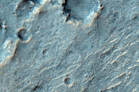 Mars craters from HiRISE