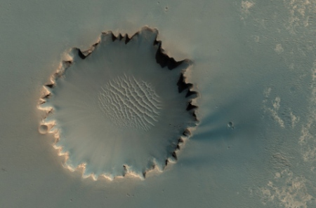 Victoria crater small