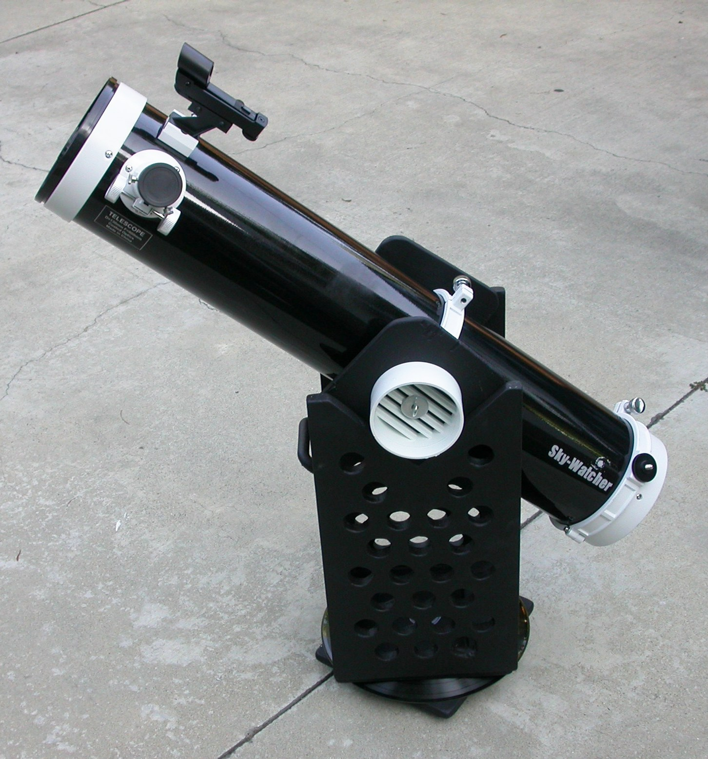 how to build a dobsonian mount for a 5 inch telescope 10 minute