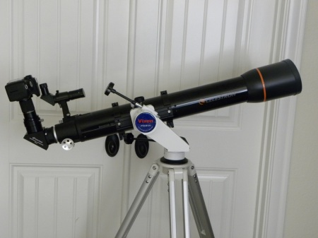 Scope and camera setup