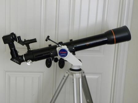 Scope and camera setup