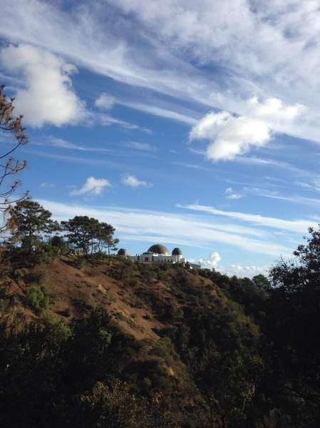 2014-11-01 Griffith Park 1 - the observatory