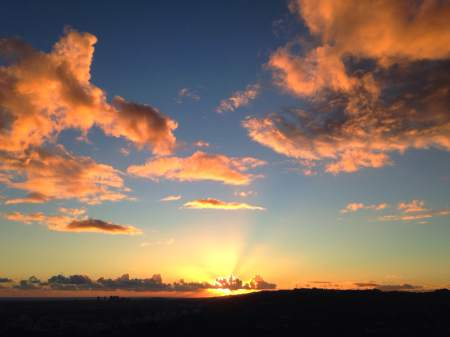 2014-11-01 Griffith Park sunset 2 - snapseed