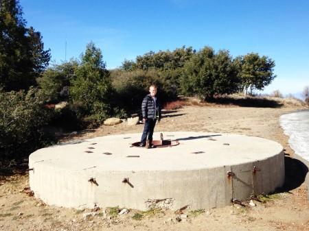 Palomar 2014 - Hale concrete mirror blank