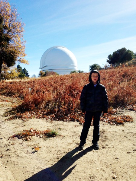 Palomar 2014 - London with the dome 2