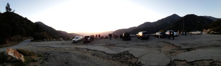 PVAA Mt Baldy Star Party 2015-04-15 panorama