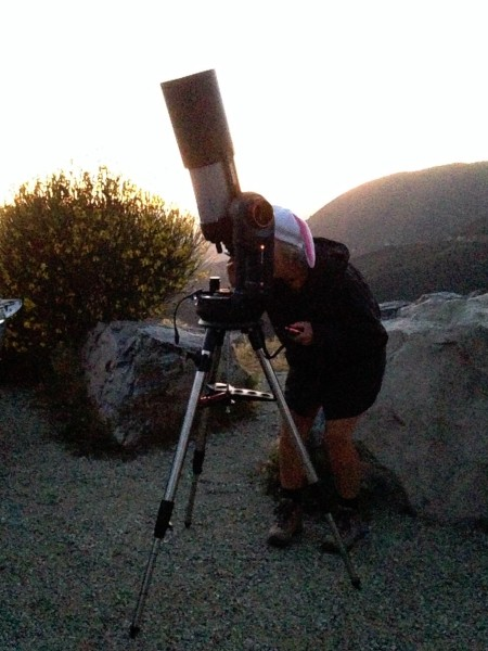 PVAA Mt Baldy Star Party 2015-04-15 Patty Morrison