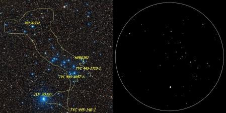 NGC 6633 comparo