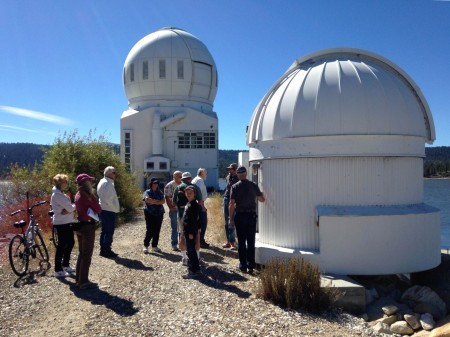 PVAA group outside BBSO domes