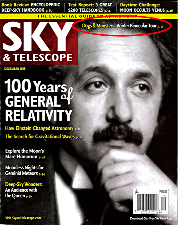 Article in astronomy?