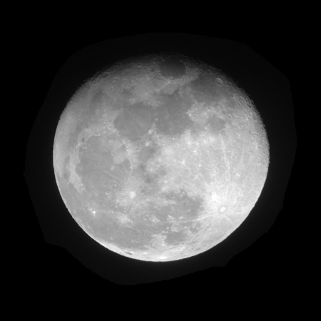 Waning gibbous moon 2015-10-28