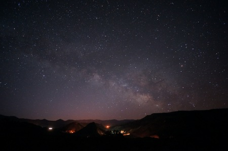 Milky Way rising by Flickr user Mike Lewinski