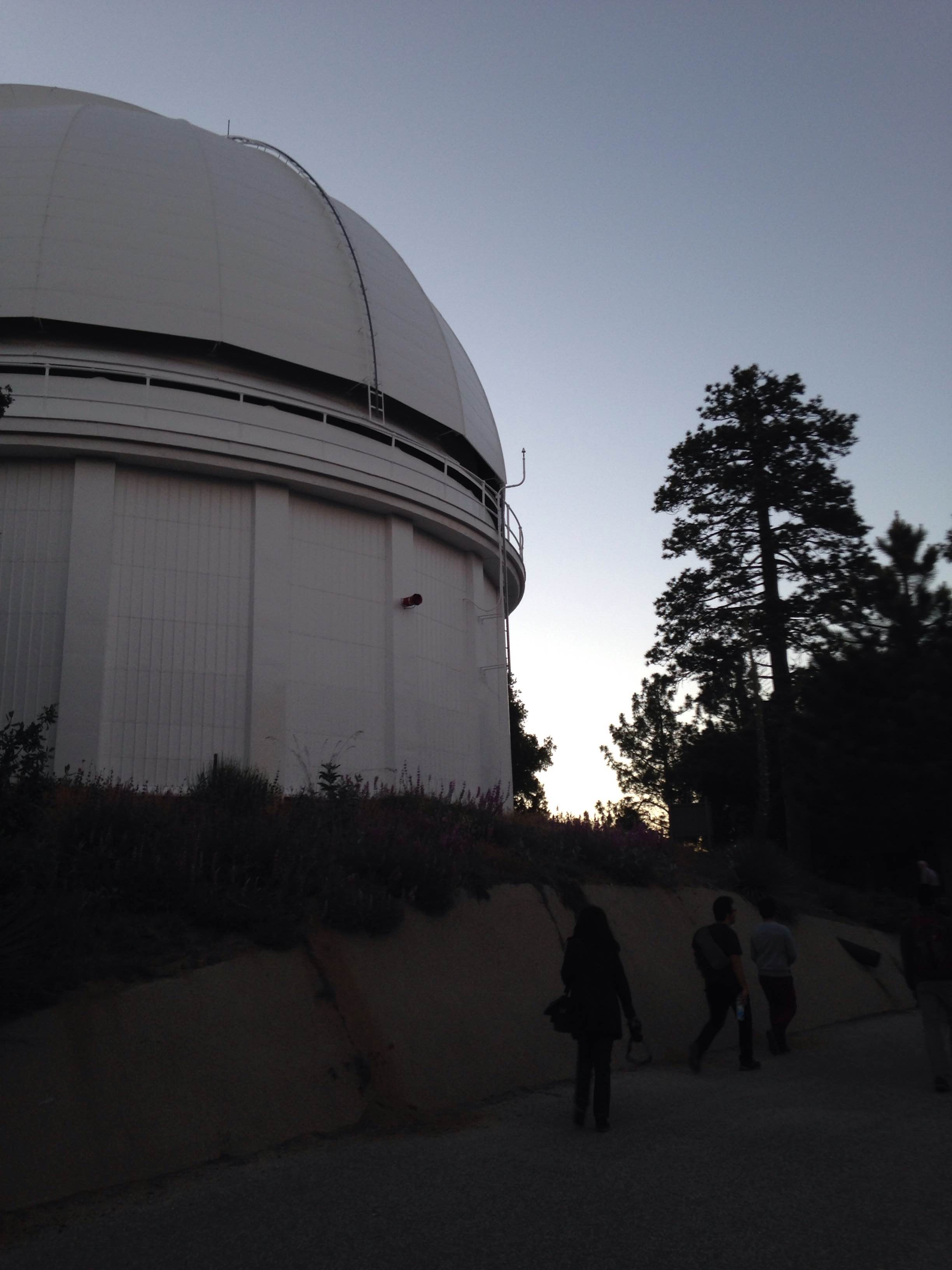 Mt Wilson 12 - going up to the 60-inch