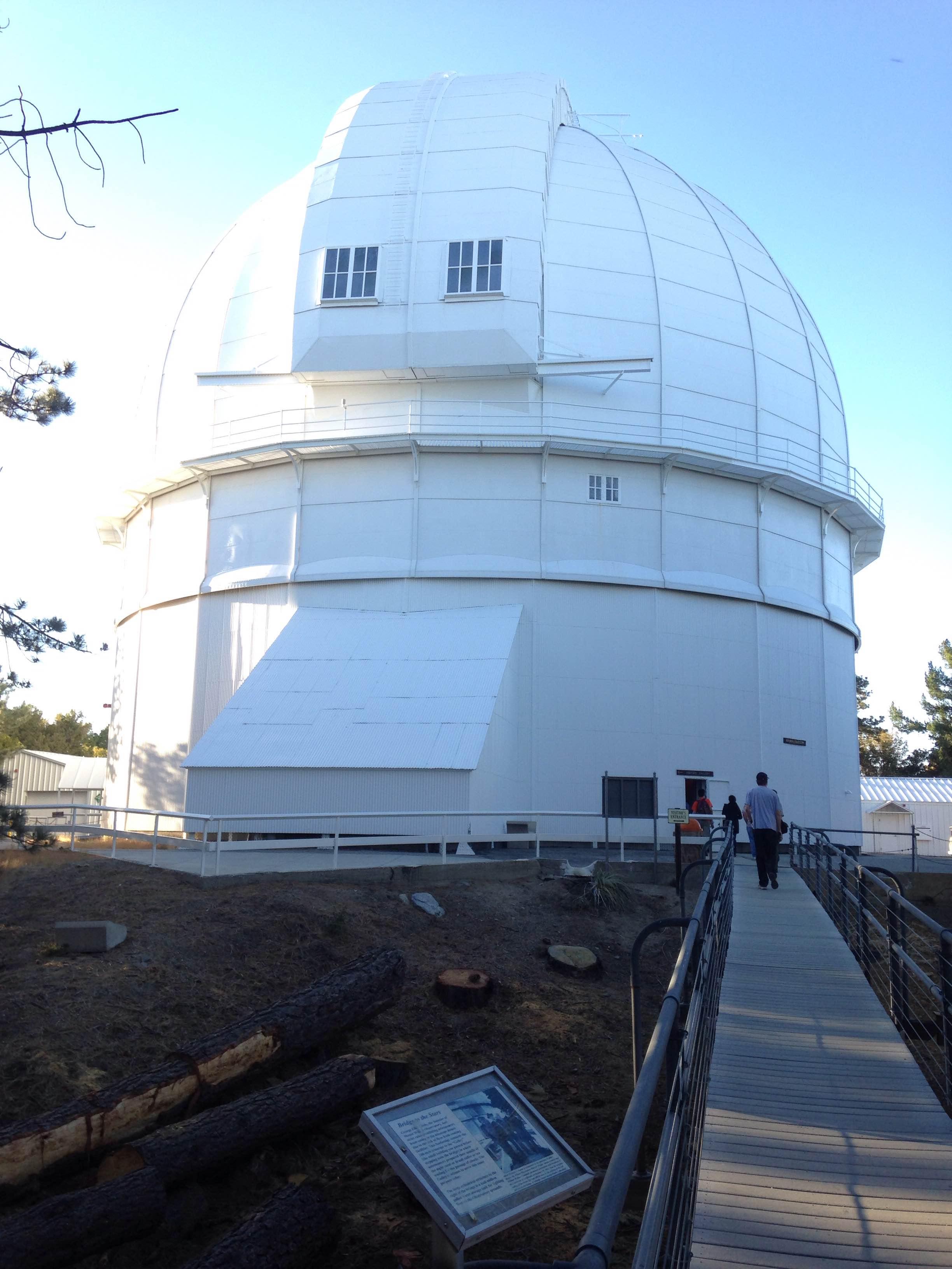 Mt Wilson 2 - Einstein bridge and the 100-inch