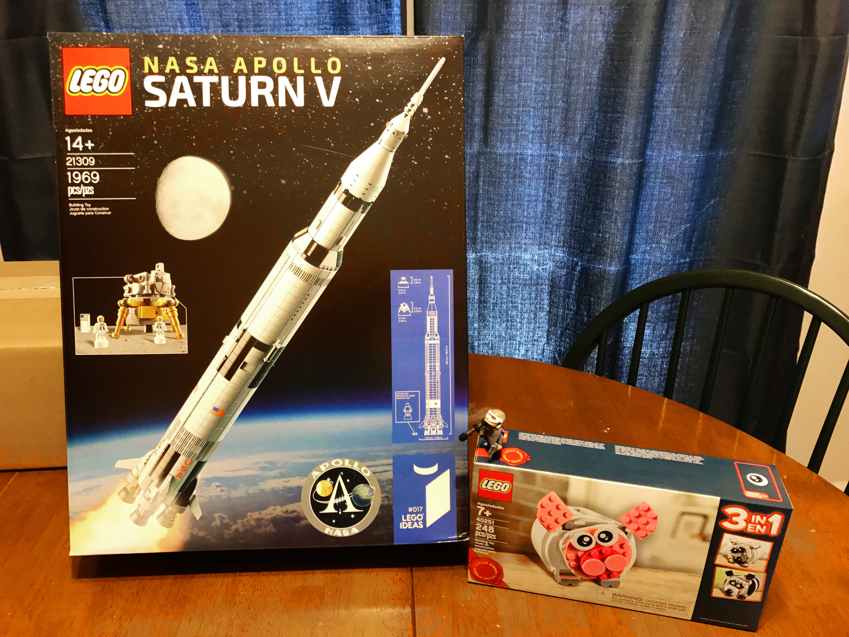 Rockets 10 Minute Astronomy No Disassemble Lego Ideas Proposal Makes It Easy To Oh Man I Have Been Longing For One Of These Since The Project Was First Announced On Site Set Officially 21309 Nasa Apollo