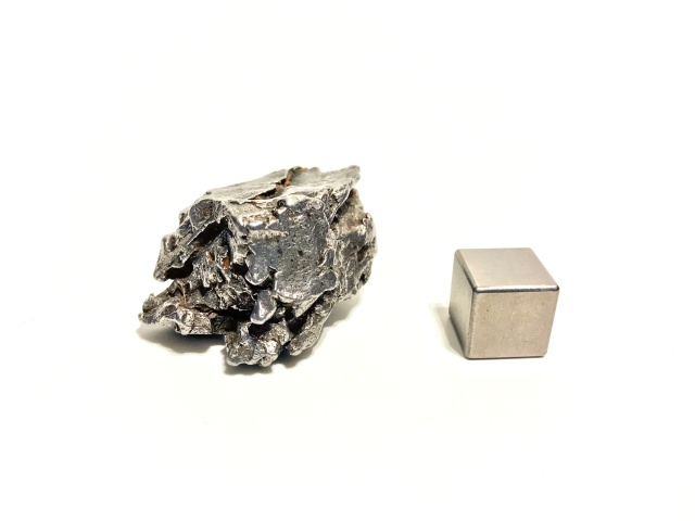 with certificate of authenticity Iron from Outer Space 21.99 Gram Campo Del Cielo Argentina Meteorite # ME 538